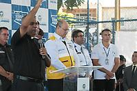 Rio de Janeiro (RJ) 17/02/2020 - Com a presenca do Governador Wilson Witzel, foi inaugurada nesta segunda-feira (17), a Operacao Seguranca Presente em Iraja. A Operacao funcionara diariamente, das 6h as 22h, com 30 policiais militares fazendo o patrulhamento a pe, de motocicletas e viaturas. (Foto: Celso Barbosa/Codigo 19/Codigo 19)