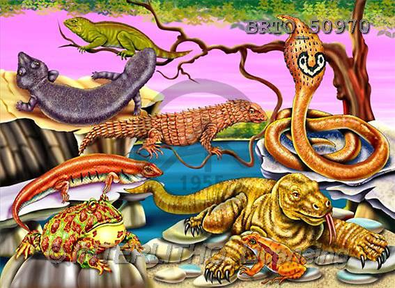 Alfredo, CUTE ANIMALS, puzzle, paintings(BRTO50970,#AC#) illustrations, pinturas, rompe cabeza