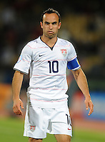 Landon Donovan of USA. USA defeated Egypt 3-0 during the FIFA Confederations Cup at Royal Bafokeng Stadium in Rustenberg, South Africa on June 21, 2009.