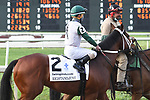 March 20, 2021: Rightandjust in the  Louisiana Derby at Fair Grounds Race Course in New Orleans, Louisiana. Parker Waters/Eclipse Sportswire/CSM
