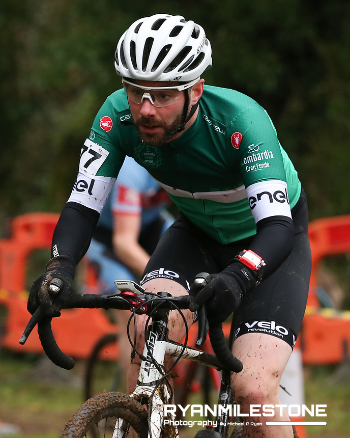 EVENT:<br /> Round 5 of the 2019 Munster CX League<br /> Drombane Cross<br /> Sunday 1st December 2019,<br /> Drombane, Co Tipperary<br /> <br /> CAPTION:<br /> Liam McCormack of Collins Cycle Centre Race Team in action during the B Race<br /> <br /> Photo By: Michael P Ryan