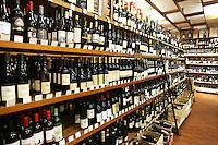 Interno dell'Enoteca Italiana a Bologna.<br /> Interior of the Enoteca Italiana wine shop in Bologna.<br /> UPDATE IMAGES PRESS/Riccardo De Luca