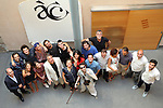 Academia del Cinema Catala.<br /> Presentació El Cicle Gaudi.<br /> Foto de familia.