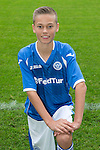 St Johnstone FC Academy Under 14's<br /> Fraser Corbett<br /> Picture by Graeme Hart.<br /> Copyright Perthshire Picture Agency<br /> Tel: 01738 623350  Mobile: 07990 594431