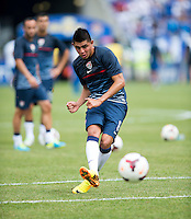 Joe Corona.  The United States defeated El Salvador, 5-1, during the quarterfinals of the CONCACAF Gold Cup at M&T Bank Stadium in Baltimore, MD.