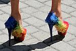 July 05, 2014: Belmont Scene .... Love them shoes. Sue Kawczynski/ESW/CSM