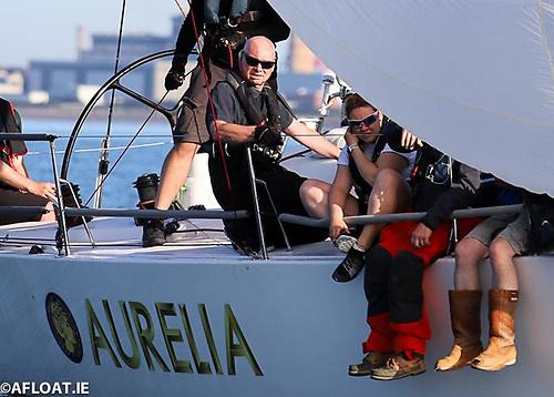 Chris Power Smith, skipper of J/122 Aurelia