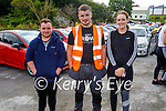 Attending Ryan's Motor Memorial Tractor and Car run in Miltown on Sunday in Miltown, l to r: Sean Daly (Waterville), Chris Scannell (Glencar) and Fiona Murphy (Filmore).