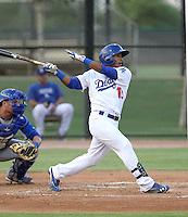 Jesmuel Valentin - 2012 AZL Dodgers (Bill Mitchell)