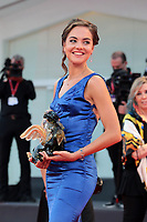 """VENICE, ITALY - SEPTEMBER 10: Erika Chia walks the red carpet ahead of the movie """"Nuevo Orden"""" (New Order) at the 77th Venice Film Festival on September 10, 2020 in Venice, Italy. <br /> CAP/MPI/AF<br /> ©AF/MPI/Capital Pictures"""