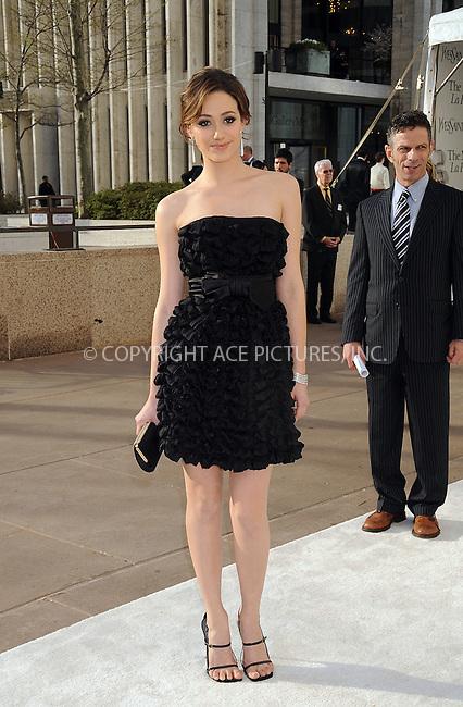 "WWW.ACEPIXS.COM . . . . . ....April 21 2008, New York City....Actress Emmy Rossum attends the opening night of The Metropolitan Opera ""La Fille Du Regiment"" at the Lincoln Center ....Please byline: KRISTIN CALLAHAN - ACEPIXS.COM.. . . . . . ..Ace Pictures, Inc:  ..(646) 769 0430..e-mail: info@acepixs.com..web: http://www.acepixs.com"