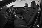 Front seat view of a 2019 Nissan X-Trail Tekna 5 Door SUV front seat car photos