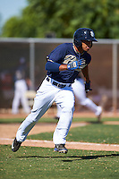 San Diego Padres Reinaldo Ilarraza (62) during an instructional league game against the Texas Rangers on October 9, 2015 at the Surprise Stadium Training Complex in Surprise, Arizona.  (Mike Janes/Four Seam Images)