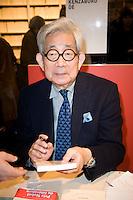 Oe Kenzaburo - Premio Nobel per la Letteratura 2011.Parigi 17/3/2012 32 salone del Libro.Foto Insidefoto / JB Autissier / PanoramiC.ITALY ONLY