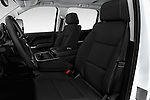 Front seat view of 2016 Chevrolet Silverado-3500HD LT-Crew-SRW 4 Door Pickup Front Seat  car photos