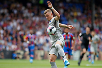 Maximilian Mittelstädt of Hertha Berlin controls the ball during the pre season friendly match between Crystal Palace and Hertha BSC at Selhurst Park, London, England on 3 August 2019. Photo by Carlton Myrie / PRiME Media Images.