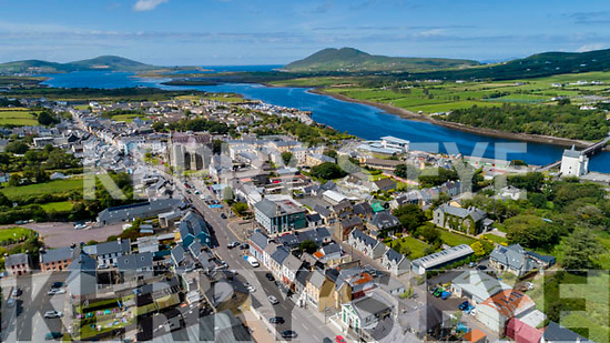 The Town that climbs the Mountain - Cahersiveen.
