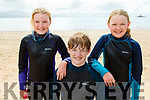 The Chute family from Spa, Anna, David and Sarah Chute enjoying the sunny after afternoon on Fenit Beach on Tuesday,