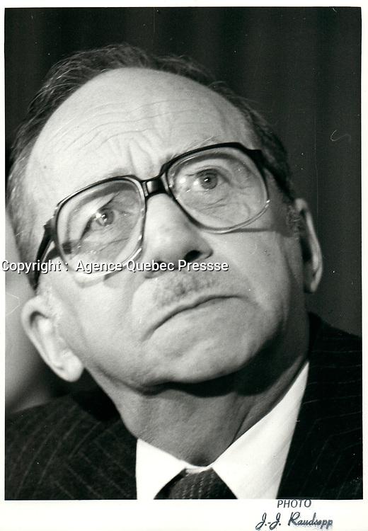 Robert Boyd, Hydro-Quebec<br /> , 18 Novembre  1980<br /> <br /> <br /> <br /> PHOTO : Agence Quebec Presse