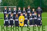 The Killarney Celtic team that played Castleisland AFC  in the u14 Premier league in Georgie O'Callaghan PArk on Saturday