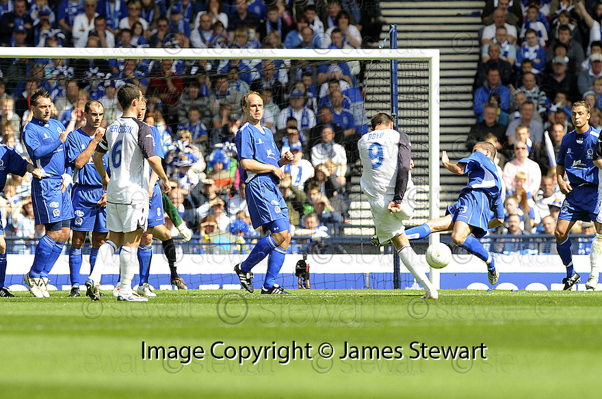 24/05/2008   Copyright Pic: James Stewart.File Name : sct_jspa01_qots_v_rangers.KRIS BOYD SCORES THE FIRST.James Stewart Photo Agency 19 Carronlea Drive, Falkirk. FK2 8DN      Vat Reg No. 607 6932 25.Studio      : +44 (0)1324 611191 .Mobile      : +44 (0)7721 416997.E-mail  :  jim@jspa.co.uk.If you require further information then contact Jim Stewart on any of the numbers above........