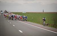 Andre Carvalho (POR/Hagens Berman Axeon) attempting an escape<br /> <br /> 74th Nokere Koerse 2019 <br /> One day race from Deinze to Nokere / BEL (196km)<br /> <br /> ©kramon