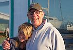 Ernie Baird, Deborah Oldham, shipwrights, Boat Haven Marina, Port of Port Townsend, Port Townsend, Puget Sound, Washington State,