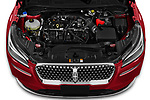 Car Stock 2021 Lincoln Corsair - 5 Door SUV Engine  high angle detail view