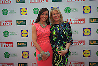 19/05/2015 <br /> Cherith Andrews & Joanne friel <br /> <br /> during the Irish mirror pride of Ireland awards at the mansion house, Dublin.<br /> Photo: gareth chaney Collins