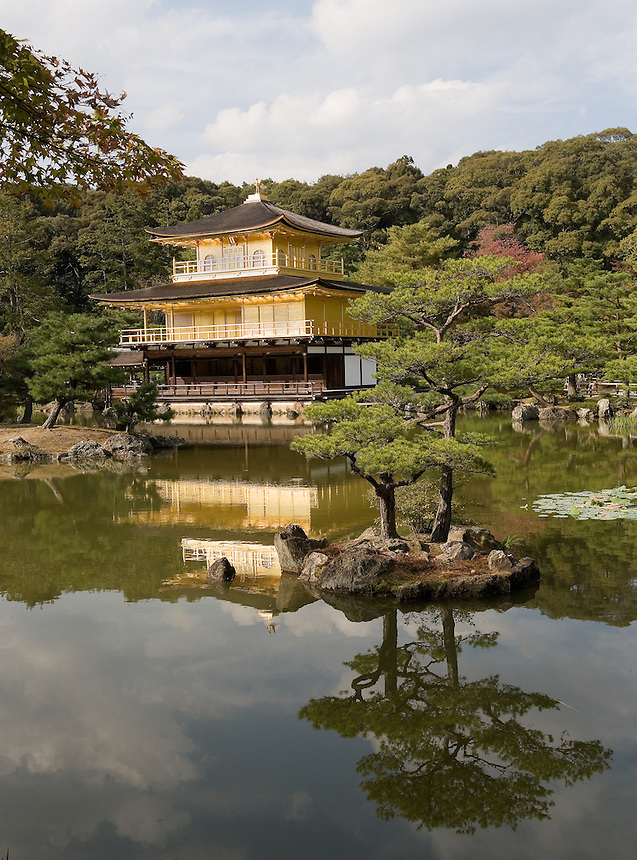 A World Heritage site in Kyoto