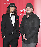 Zac Brown and Jason Mraz at The MusiCares® 2013 Person Of The Year Tribute held at The Los Angeles Convention Center, West Hall in Los Angeles, California on February 08,2013                                                                   Copyright 2013 Hollywood Press Agency