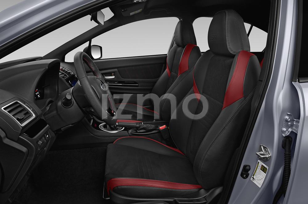 Front seat view of 2021 Subaru WRX-STI - 4 Door Sedan Front Seat  car photos