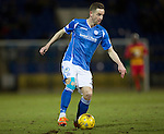 St Johnstone v Partick Thistle…02.03.16  SPFL McDiarmid Park, Perth<br />Steven MacLean<br />Picture by Graeme Hart.<br />Copyright Perthshire Picture Agency<br />Tel: 01738 623350  Mobile: 07990 594431