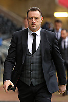 Goalkeeping coach Tony Roberts arrives prior to the game during the Premier League match between Swansea City and West Bromwich Albion at The Liberty Stadium, Swansea, Wales, UK. Saturday 09 December 2017