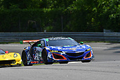 IMSA WeatherTech SportsCar Championship<br /> Northeast Grand Prix<br /> Lime Rock Park, Lakeville, CT USA<br /> Friday 21 July 2017<br /> 86, Acura, Acura NSX, GTD, Oswaldo Negri Jr., Jeff Segal<br /> World Copyright: Richard Dole<br /> LAT Images<br /> ref: Digital Image RD_LRP_17_01106