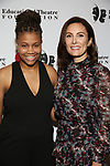 Brannon Evans and Laura Benanti attends the Fifth Annual Broadway Back To School Gala at Edison Ballroom on September 20,22019 in New York City.
