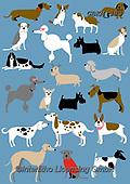 Kate, GIFT WRAPS, GESCHENKPAPIER, PAPEL DE REGALO, paintings+++++,GBKM383,#gp#, EVERYDAY,dogs