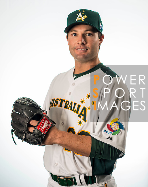 Tim Kennelly of Team Australia poses during WBC Photo Day on February 25, 2013 in Taichung, Taiwan. Photo by Andy Jones / The Power of Sport Images