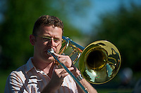 Ryan Crawford, The Other Big Band, Langley Jazz Festival Douglas Park Langley B.C. June 5 2010