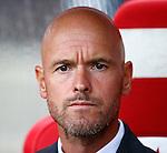 Nederland, Utrecht, 16 augustus 2015<br /> Eredivisie<br /> Seizoen 2015-2016<br /> FC Utrecht-SC Heerenveen<br /> Erik ten Hag, trainer-coach van FC Utrecht