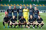 11.01.2020 Rangers v Lokomotiv Tashkent, Sevens Stadium, Dubai:<br /> Rangers team