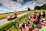 The publicity caravan before Stage 4 of the 2021 Tour de France, running 150.4km from Redon to Fougeres, France. 29th June 2021.  <br /> Picture: A.S.O./Aurelien Vialatte   Cyclefile<br /> <br /> All photos usage must carry mandatory copyright credit (© Cyclefile   A.S.O./Aurelien Vialatte)