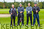 Mike O'Sullivan, Henry Bartlett, Padraig Dundon and Damian O'Carroll Killarney at the Donal Walsh, Kerry Corporate Golf Tournament in aid of Cancer Research at Crumlin Hospital in Killarney Golf Course on Friday