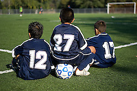 Youth soccer.