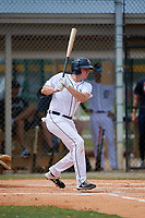 Detroit Tigers Bryant Packard (40) at bat during an Instructional League instrasquad game on September 20, 2019 at Tigertown in Lakeland, Florida.  (Mike Janes/Four Seam Images)