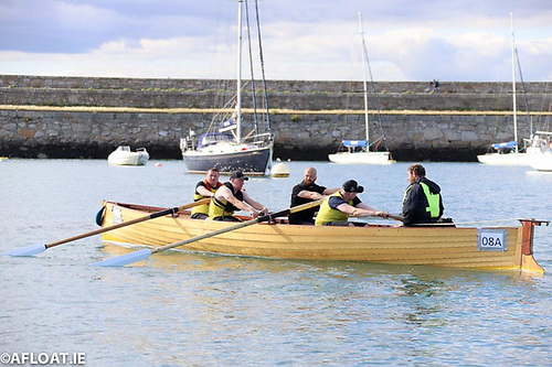 Coastal rowing is popular at Dun Laoghaire Harbour and along the coast at Dalkey