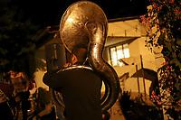 Night of pupular dance with band music, Tuba and accordion at the home of the Burbua family, and Felix on October 9, 2020 in the community of Fronteras, Sonora, Mexico.<br /> (Photo By Luis Gutierrez / Norte Photo)<br /> <br /> <br /> Noche de baile pupular con musica de banda, Tuba y acordeon en el hogar casa de la familia Burbua, y Felix  el 9 cotubre 2020 en  la comunidad de Fronteras, Sonora, Mexico. <br /> (Photo By Luis Gutierrez/Norte Photo)