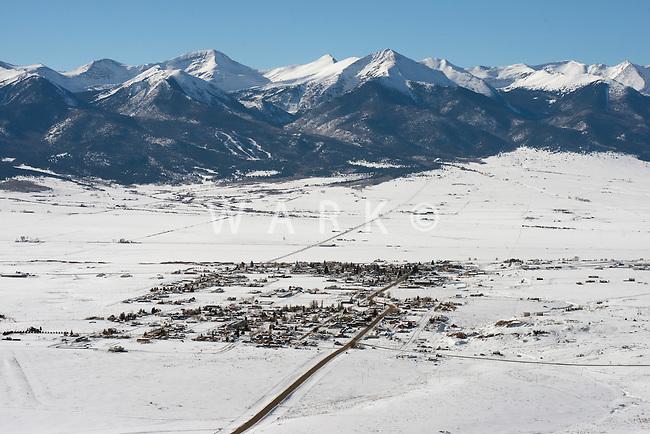 Westcliffe, Colorado. Dec 2013