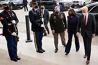 FEB 10 Joe Biden visit the Pentagon