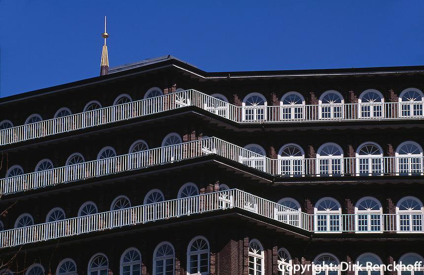 Deutschland, Chilehaus in Hamburg